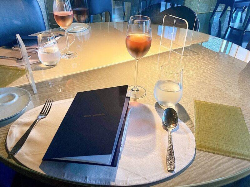 ロスフード食材を使用したコース料理が楽しめる!東京・銀座アルマーニ リストランテ